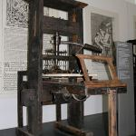Printing Press, Munich Museum, Germany, 1811