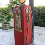 Old Gas Pump in Savannah Georgia.  Author: Lukelastic from Wikimedia Project.