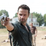 Sheriff Rick and his six-shooter - photo courtesy of AMC