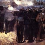 "You're Fired!  --- ""Study for the Execution of Emperor Maximilian"" - Edouard Manet, 1867"
