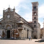 The Duomo Cathedral in Prato, Italy