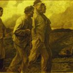 """The Return of the Miners"" - Constantin Meunier (1831-1905) - oil on canvas, Meunier Museum, Brussels"