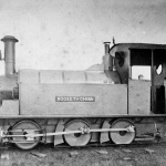"The ""Rocket of China"" steam locomotive, constructed by C.W. Kinder in 1881 --- Chinese Engineering and Mining Company ( China) records of 1882"