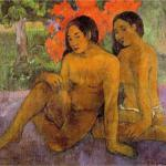 "Because the preceding chart is ugly, here is something beautiful:  ""And The Gold Of Their Bodies"" - Paul Gauguin, 1901"